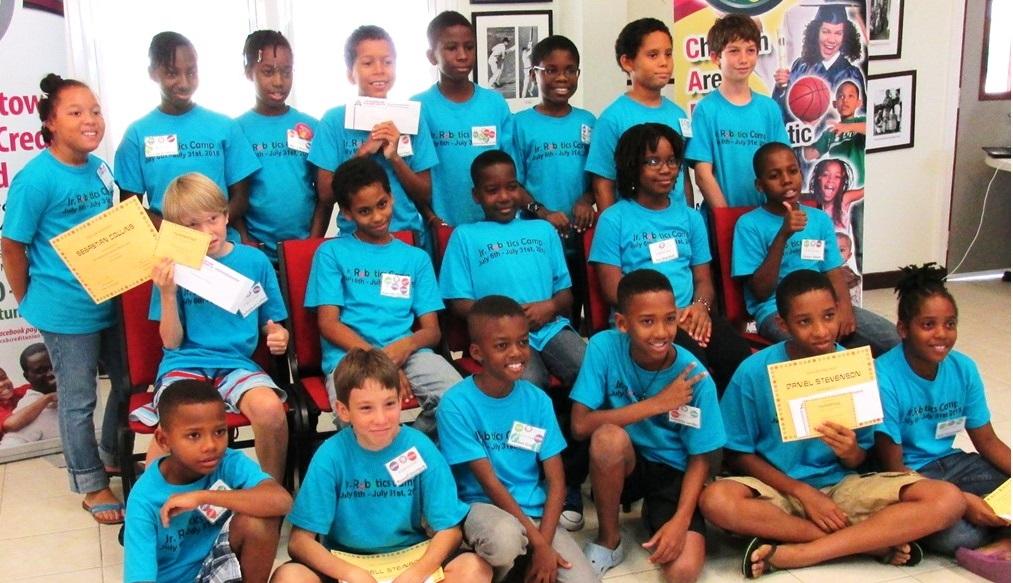 2015 Barbados Junior Robotics Camp an overwhelming success