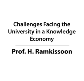 Challenges Facing the University in a Knowledge Economy