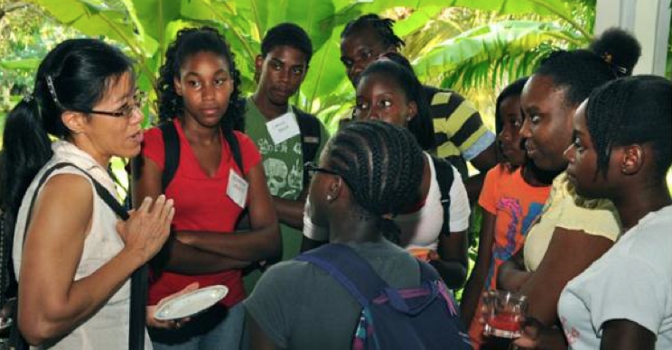 2012 CSF Annual Workshop Attracts Over 120 Grenadian STEM Students and Teachers