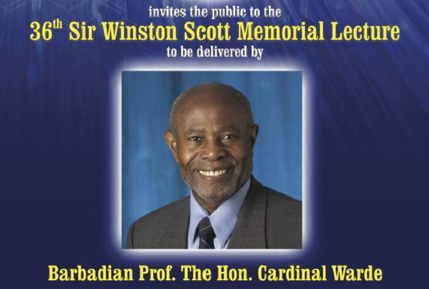 Lecture on Education Reform by Professor Cardinal Warde