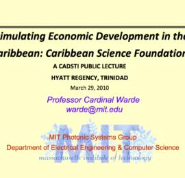 Stimulating Economic Development in the Caribbean
