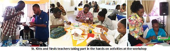 St. Kitts and Nevis STEM Teacher Training Workshop